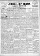 Le Journal des Débats politiques et littéraires - 1924-12-31