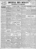 Le Journal des Débats politiques et littéraires - 1940-10-19