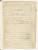 Corisandre // ou // La Rose Magique // Opera férie // En 3 Actes // le Chv.lier h: Berton (manuscrit autographe)