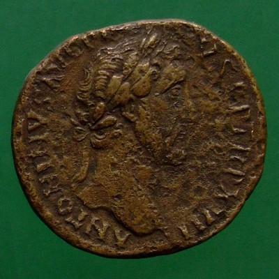 Antoninus I. Pius (138-161); Rom; 153 - 154; Sesterz; RIC 916a