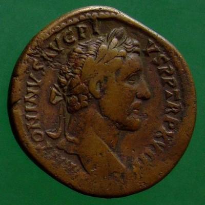 Antoninus I. Pius (138-161); Rom; 154 - 155; Sesterz; RIC 929