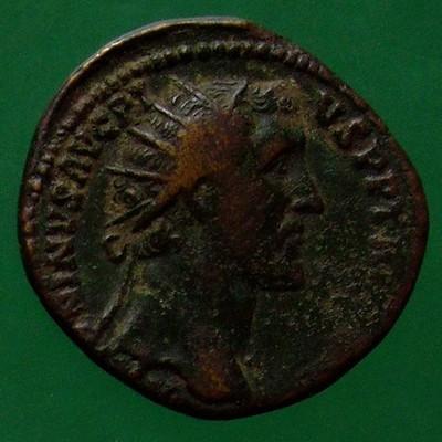 Antoninus I. Pius (138-161); Rom; 155 - 156; Dupondius; RIC 950