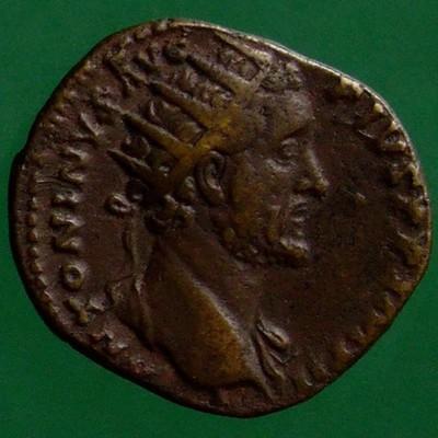 Antoninus I. Pius (138-161); Rom; 157 - 158; Dupondius; RIC 993