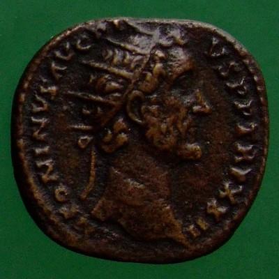 Antoninus I. Pius (138-161); Rom; 158 - 159; Dupondius; RIC 1013