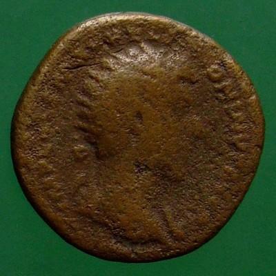 Marcus Aurelius (161-180) und Lucius Verus (161-169) (Gemeinherrschaft); Rom; 161; Dupondius; MIR 18 16-8/55