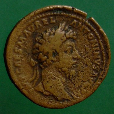 Marcus Aurelius (161-180) und Lucius Verus (161-169) (Gemeinherrschaft); Rom; 163; Sesterz; MIR 18 65-6/30