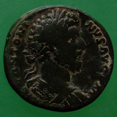 Marcus Aurelius (161-180) und Lucius Verus (161-169) (Gemeinherrschaft); Rom; 164; Sesterz; MIR 18 80-6/35