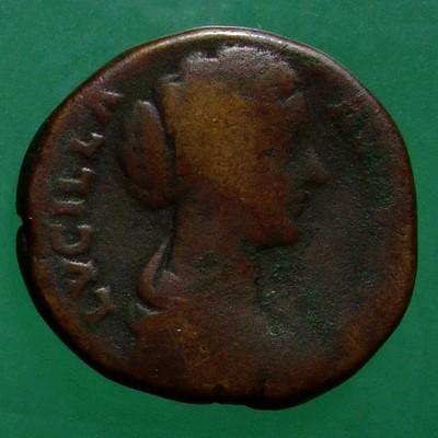 Marcus Aurelius (161-180) und Lucius Verus (161-169) (Gemeinherrschaft); Rom; 161 - 167; Sesterz; MIR Lu 37-6/1c