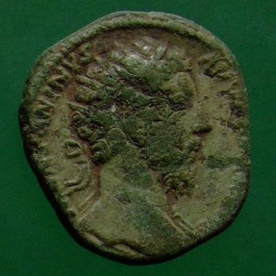Marcus Aurelius (161-180); Rom; 174; Dupondius; MIR 18 246-8/50 od. 266-8/50