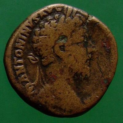 Commodus (180-192) oder Marcus Aurelius (161-180); Rom; 161 - 192; Sesterz; MIR 18 ?