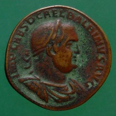 Pupienus  (238) und Balbinus (238) (Gemeinherrschaft); Rom; 238; Sesterz; RIC 23