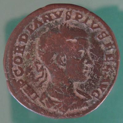 Moesia superior; Gordianus III. (238-244); Viminacium; 242 - 243; Sesterz; Pick Nr. 83