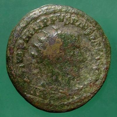 Moesia superior; Philippus I. Arabs (244-249); Viminacium; 244; Dupondius; Pick Nr. 101