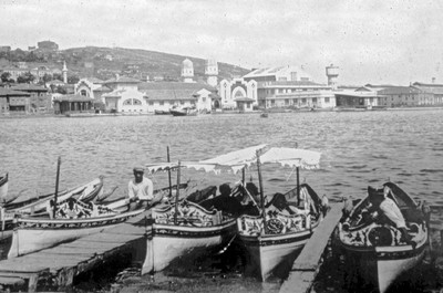 Boats at the Eyüp quay
