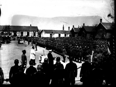 'Slava' ceremony for the 'Gvozdeni Puk' Second Infantry Division, 1930