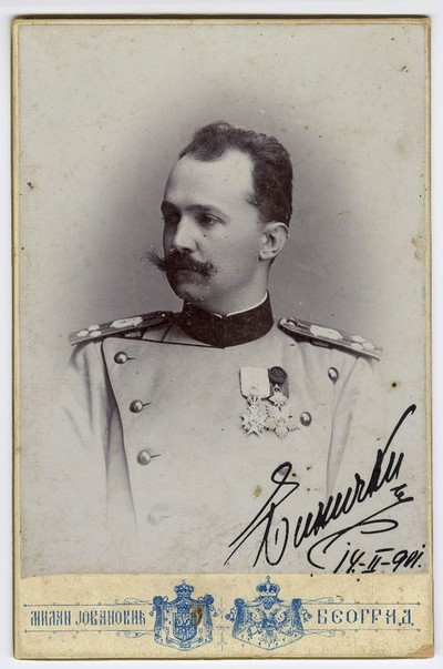 Studio portrait of Stanislav Binički