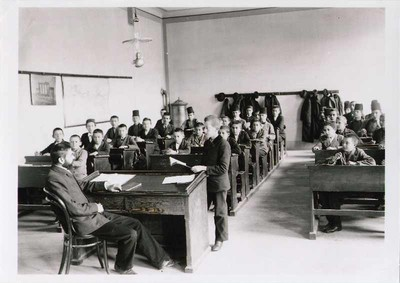 Class at the Boys' High School (Velika gimnazija)