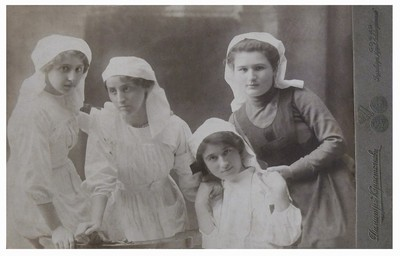 Portrait of World War I Samaritan nurses