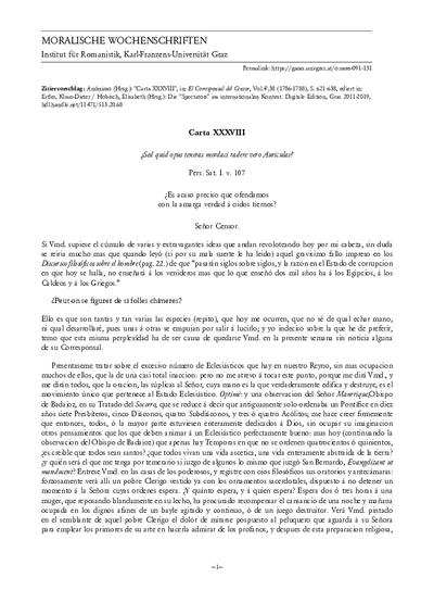 Carta XXXVIII