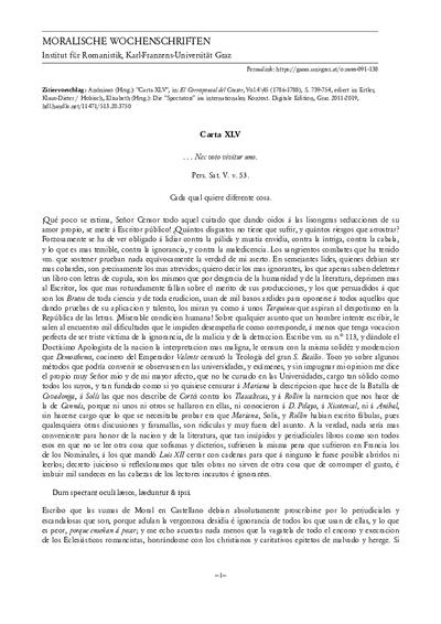 Carta XLV
