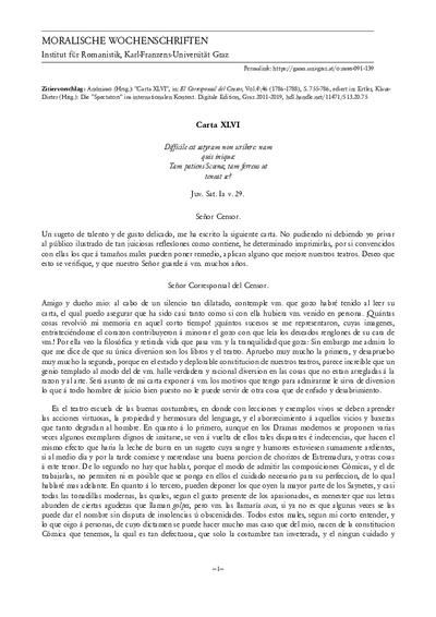 Carta XLVI