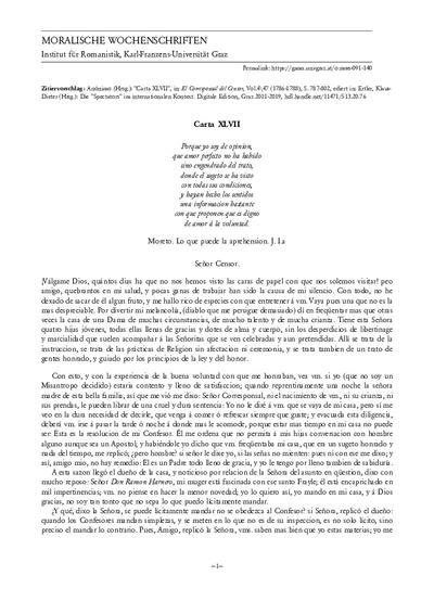 Carta XLVII