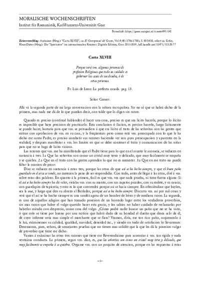 Carta XLVIII
