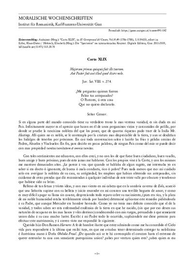 Carta XLIX