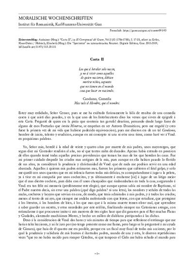 Carta II