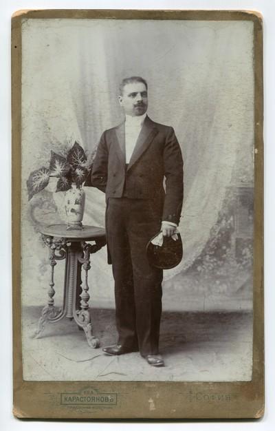 Studio portrait of a man