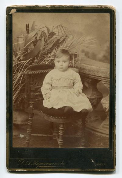 Studio portrait of an infant