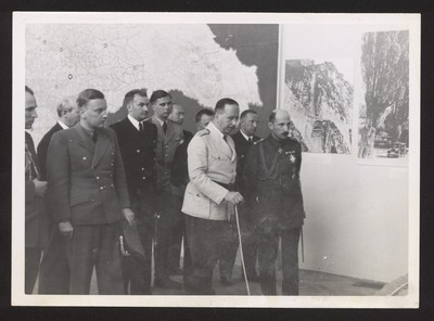 King Boris III and German officers