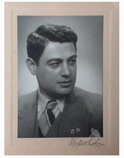 Studio portrait of Boris Kolchev