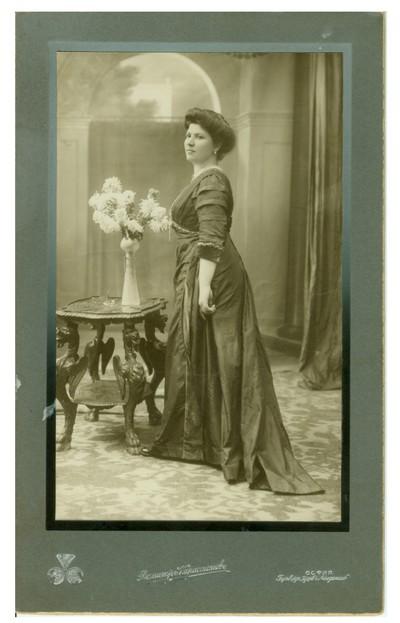 Studio portrait of Kalcheva