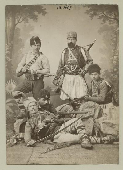 Bulgarian volunteers in the Serbo-Bulgarian War 1885