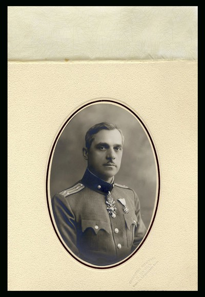 Studio portrait of General Vasilev