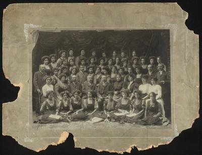 A women's choir and teachers