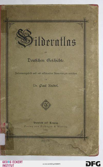 Bilderatlas zur deutschen Geschichte
