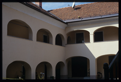 Kostanjevica na Krki - Rojstna hiša Ivana Oražna, fotografija