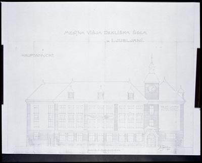 Ljubljana - Mladika (načrt), fotografija