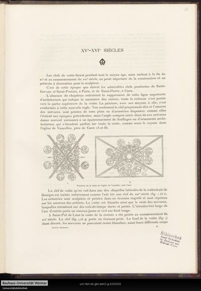 XVe-XVIe siècles [Pl. 56]