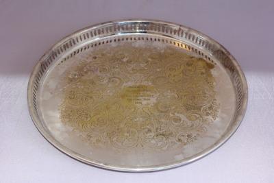 Alan Banks | Silver Plate