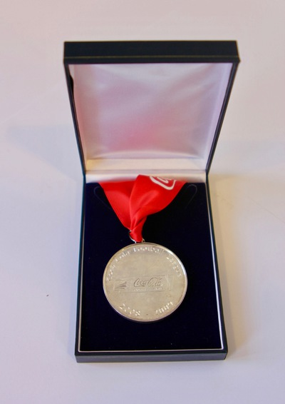 Coca-cola Football League Runners-Up Medal 2008/09