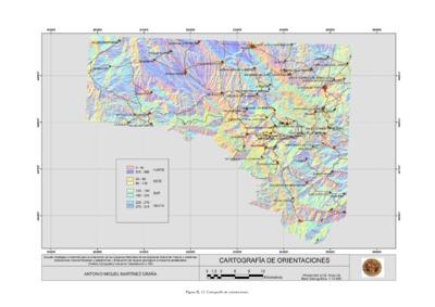 Estudio geológico ambiental para la ordenación de los espacios naturales de