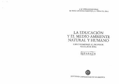 Ética ecológica y educación ambiental en el siglo XXI