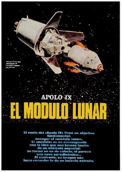Omnia Apolo Ix El Módulo Lunar
