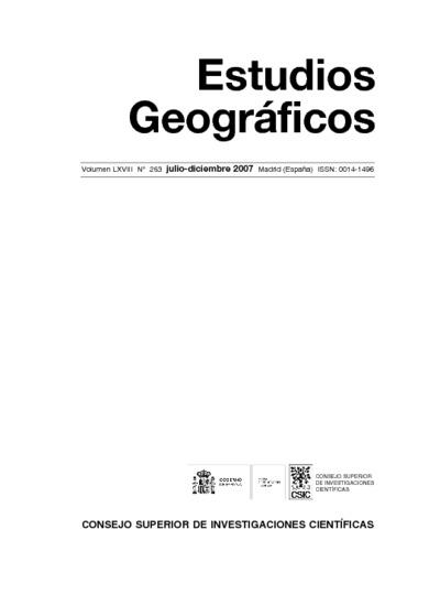 Cooperación territorial y gobierno del territorio en Castilla y León