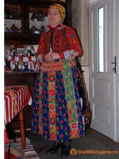 Costum popular femeiesc din satul Viştea