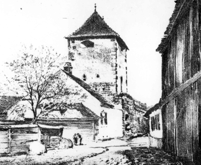 Bastionul Lăcătuşilor (strada Tipografiei)