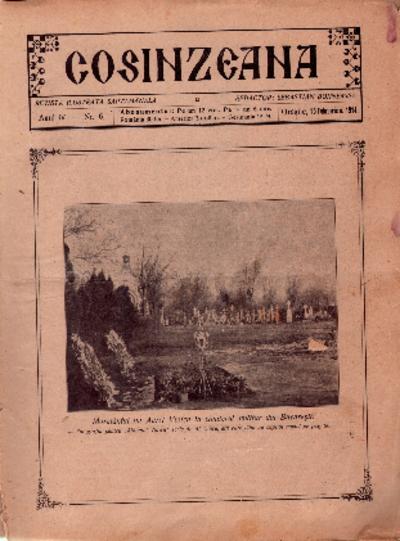 Cosînzeana : Revistă ilustrată săptămânală, Anul IV, Nr. 6 (1914)